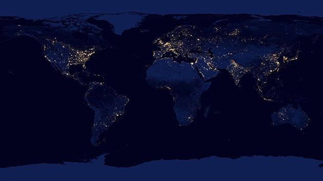 La NASA presenta imágenes espectaculares del 'lado oscuro' de la Tierra