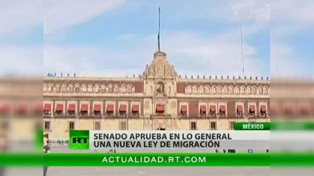 Aprobada la nueva ley de inmigración en México