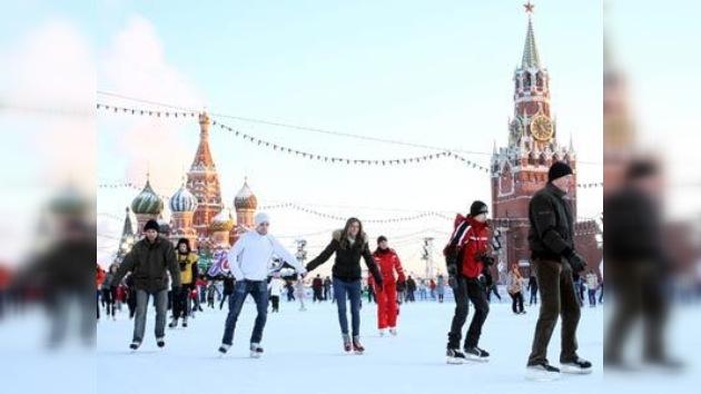 Los patines, la mejor opción para las vacaciones navideñas rusas