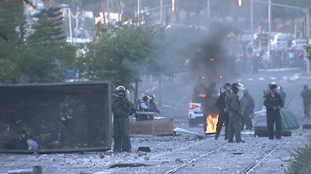 Video: Choques entre palestinos y fuerzas de seguridad israelíes