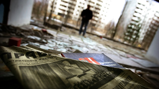 Imágenes escalofriantes: la zona muerta de Chernóbyl captada por un dron