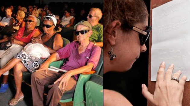 Cuba: Los ciegos también van al cine
