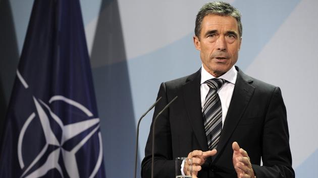 Rasmussen insta a la OTAN a activarse por la crisis ucraniana