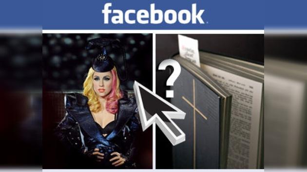 ¿Quién es más famoso en Facebook, la Biblia o Lady Gaga?