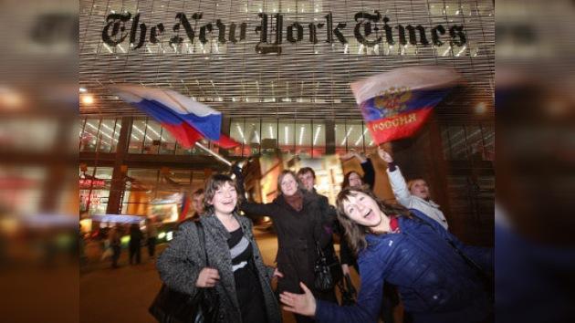 """The New York Times busca """"la cara mala"""" de Rusia"""