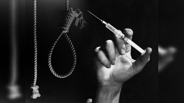 Suicidio, solución de drogadictos