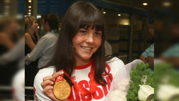 Una rusa es la mejor nadadora de la década