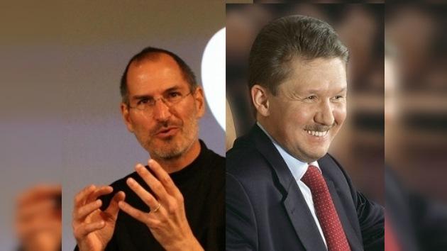 Steve Jobs y Alexéi Miller: Los Directores Ejecutivos más eficientes