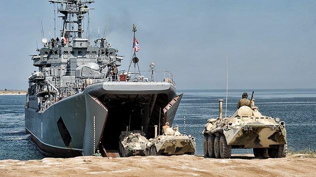 Cuenta regresiva: dos buques de guerra rusos, listos para zarpar rumbo a Siria