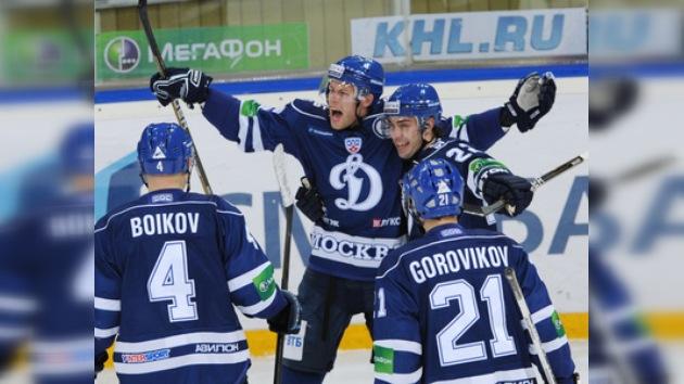 KHL: El Dinamo sufre para vencer al Yugrá y espantar sus fantasmas