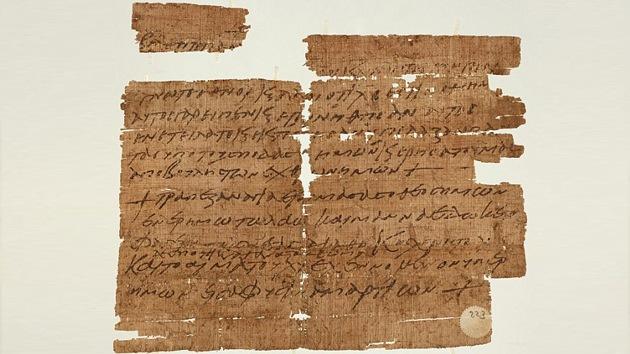 Hallan el primer papiro 'mágico' referente a la Última Cena de 1.500 años de antigüedad