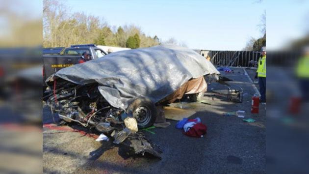 Al menos 11 personas murieron en un accidente de tráfico en Kentucky