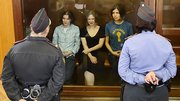 Las Pussy Riot, condenadas a dos años de cárcel