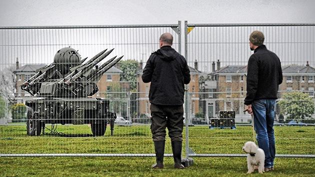 Londres 2012: instalarán misiles tierra-aire para 'resguardar' los Juegos Olímpicos