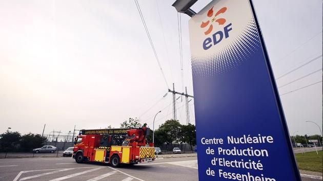 Incendio en una central nuclear francesa deja varios heridos