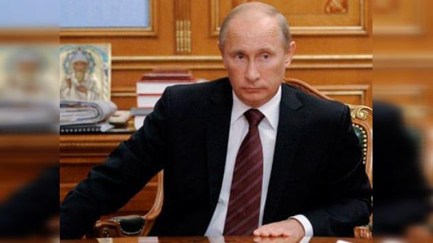 El partido Rusia Unida ofrece la candidatura de Putin a la presidencia