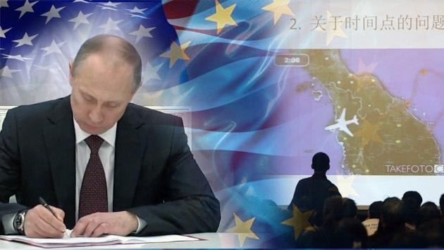 Balance semanal: Crimea se convierte en parte de Rusia, el avión de Malasia sigue desaparecido
