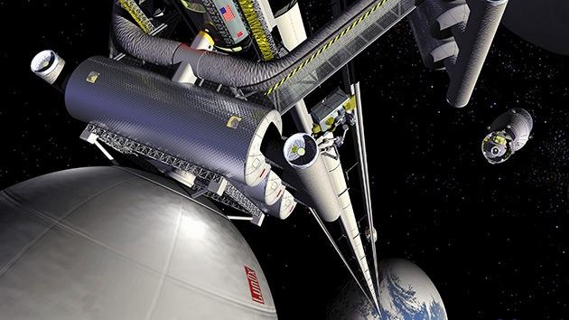 Los científicos creen que subir en ascensor al cosmos sería seguro y barato