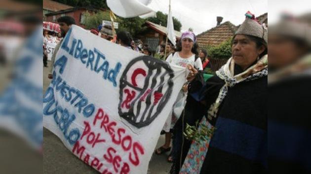 Los cuatro presos mapuches en huelga de hambre en Chile están al borde de la muerte
