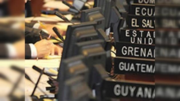 Se inicia la reunión de los ministros de Justicia de los países de la OEA