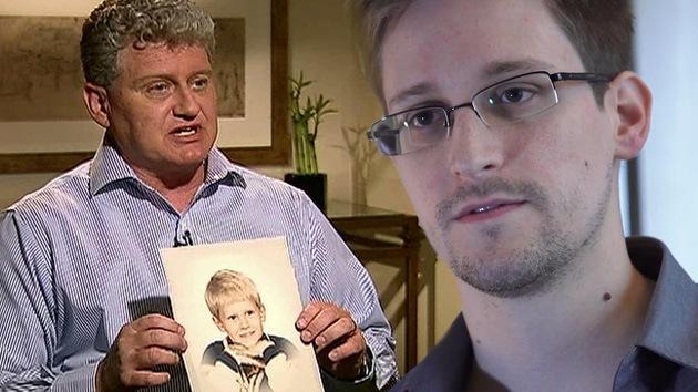 El padre de Edward Snowden elogia a su hijo en una carta abierta