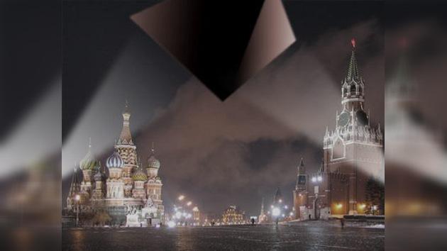 Un OVNI sobre el Kremlin
