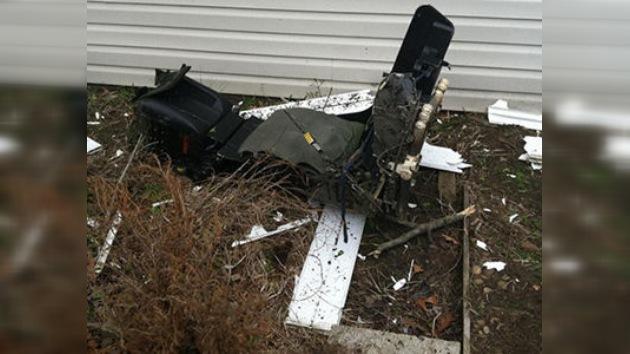 Problemas técnicos causaron la caída del F-18 en Virginia