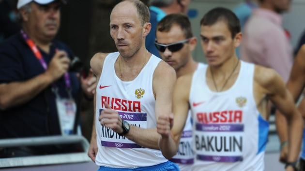 Londres 2012: Oro para Rusia en los 50 kilómetros marcha