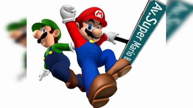 En España se inaugura avenida en honor de Súper Mario