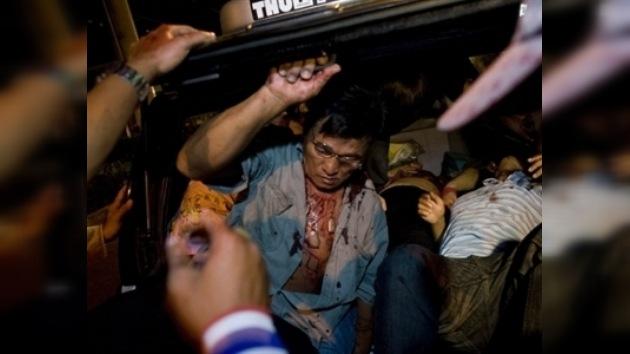 Cinco explosiones en el metro de Bangkok