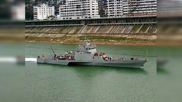 Tres cascos en uno para la Armada china: revelan el nuevo trimarán rápido de ataque