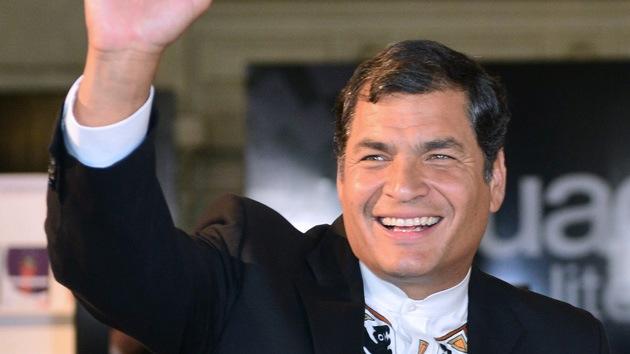 """""""Para que sufran los sufridores"""": Correa buscará la reelección si """"siguen molestando"""""""