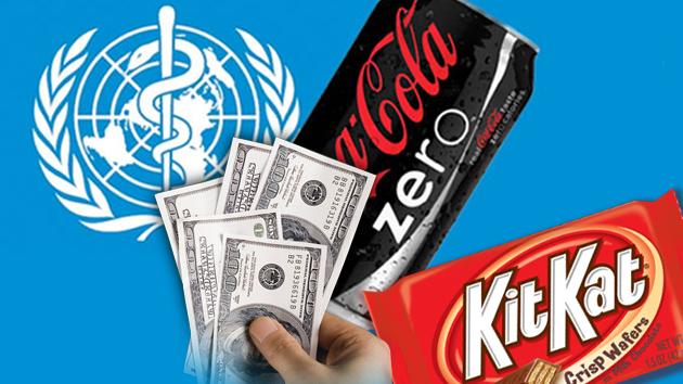 La ´independiente´ OMS recibe cientos de miles de dólares de Coca-Cola y Nestle