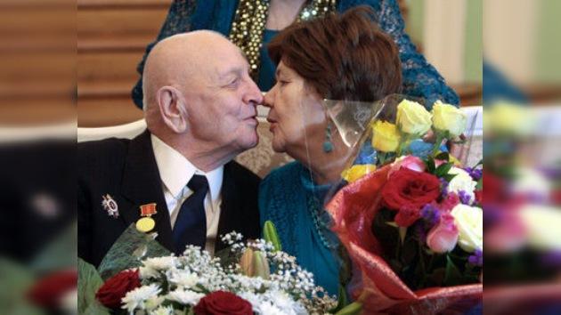 Un vecino de San Petersburgo se casa a la edad de 103 años