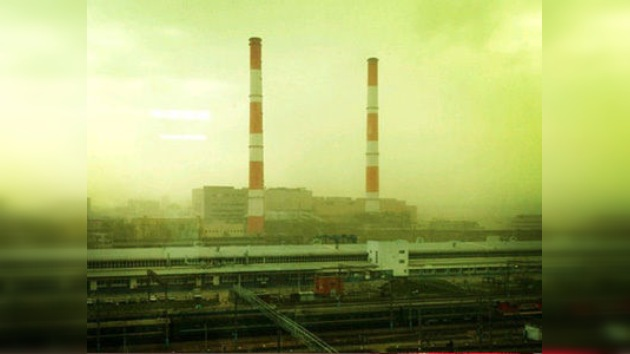 Video: Nubes verdes sobre Moscú, ¿polen, química o vientos de apocalipsis?