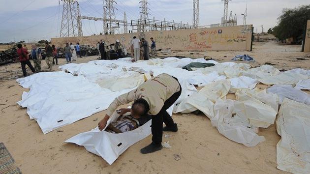 """ONG: """"Los bombardeos de la OTAN mataron a un 2% de la población libia"""""""