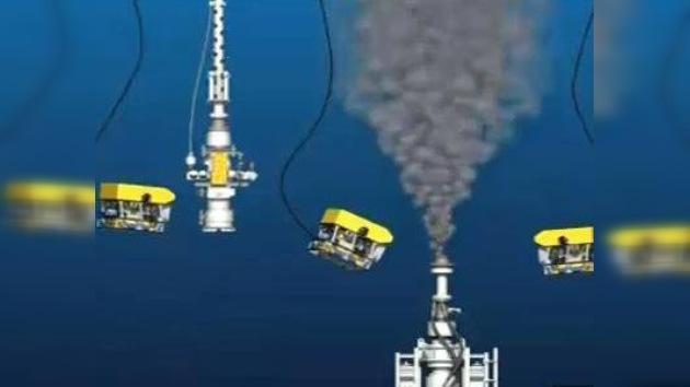 BP aumenta la capacidad de su cúpula contenedora
