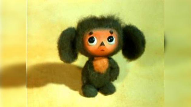 Cheburashka cautiva a Japón