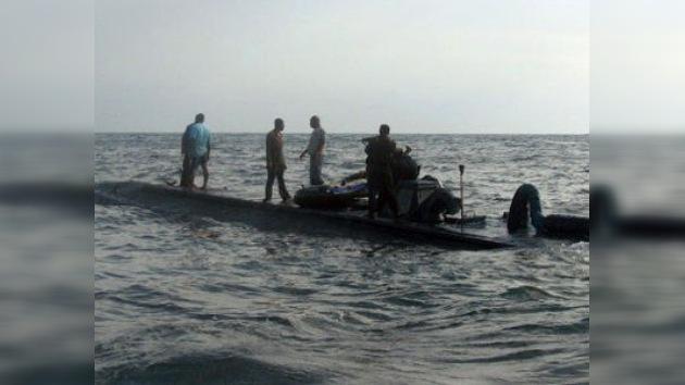 Fuerza Naval hondureña localiza un narcosubmarino y captura a sus tripulantes