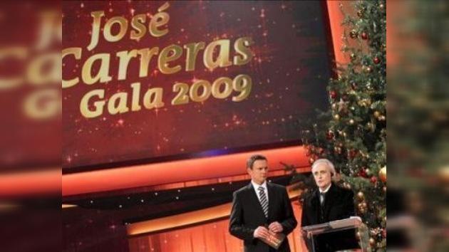 José Carreras recauda más de 9 millones de dólares en su gala benéfica