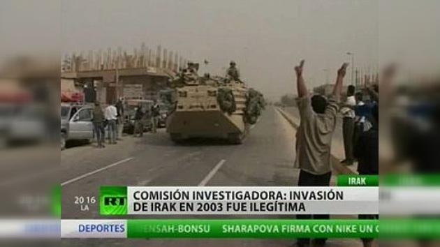 El informe holandés determina que la ONU no tenía mandato para invadir Irak