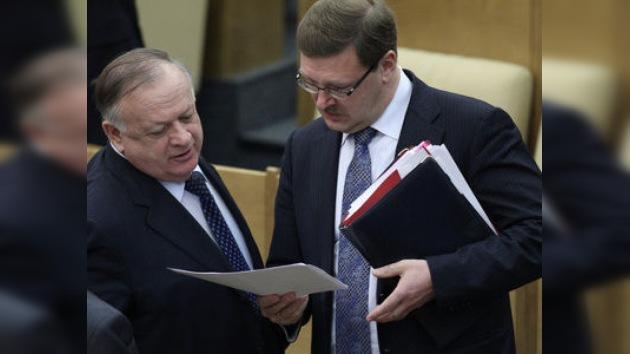 El Parlamento ruso aprueba enmiendas para el texto del tratado START
