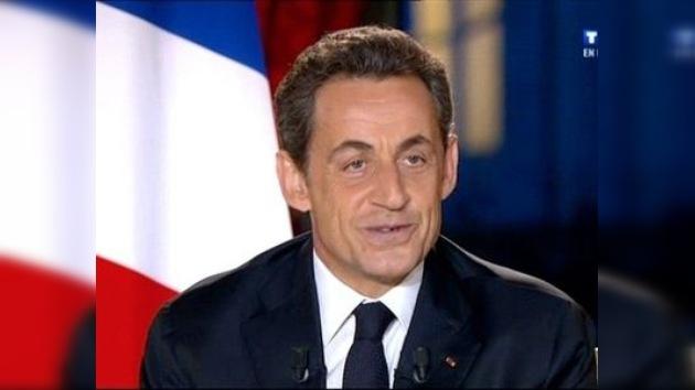 Sarkozy anuncia la subida del IVA para después de las elecciones