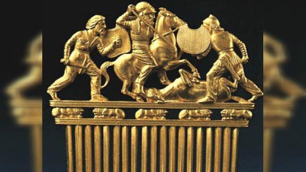 El Ermitage presenta la historia rusa en una exposición arqueológica en España