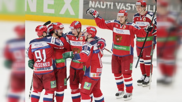 Rusia vence a Finlandia en su debut en la Copa Kariala
