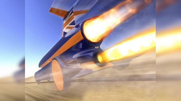 Se construye el vehículo terrestre más rápido del mundo