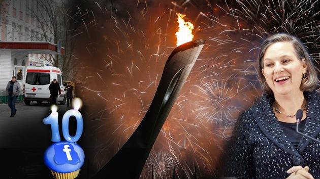 Balance semanal: Los Juegos Olímpicos de Sochi, polémico diálogo entre diplomáticos de EE.UU. y tiroteo en una escuela de Moscú