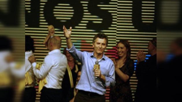 Mauricio Macri gana la primera vuelta de las elecciones porteñas