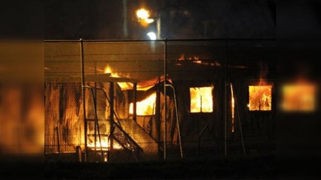 Un grupo de indocumentados incendia un centro de detención de inmigrantes en Sídney