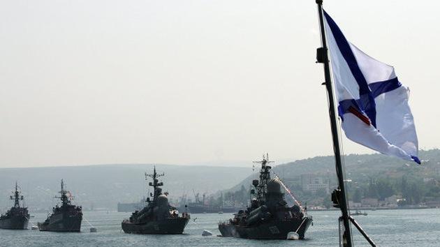 """""""La Armada rusa en Crimea no interfiere en los asuntos internos de Ucrania"""""""